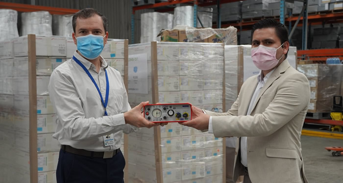 Smiths Medical donated paraPAC plus™ ventilators