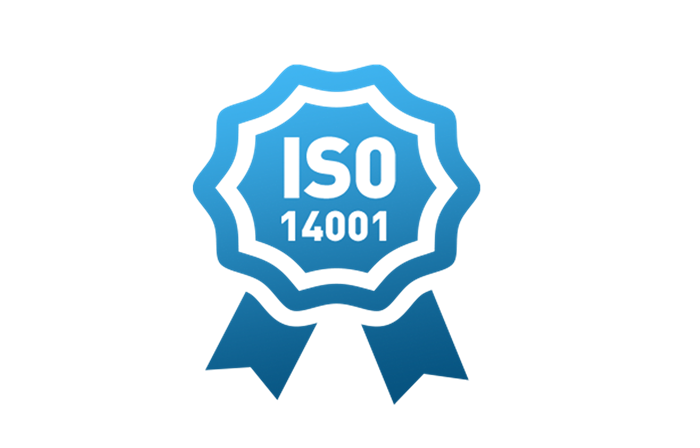 Rosette with ISO14001 inside