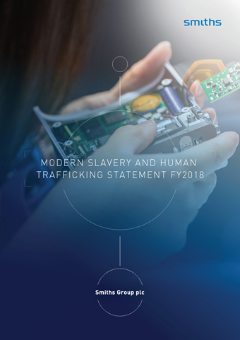 Smiths Group Modern Slavery Statement FY2018
