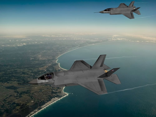 Flying high on F-35 aircraft