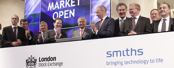 Smiths Group celebrates 100 years on London Stock Exchange
