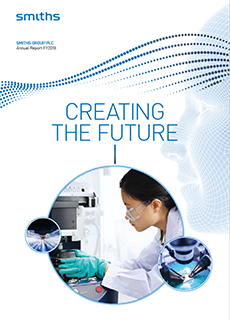Smiths Group Annual Report FY2018 front cover